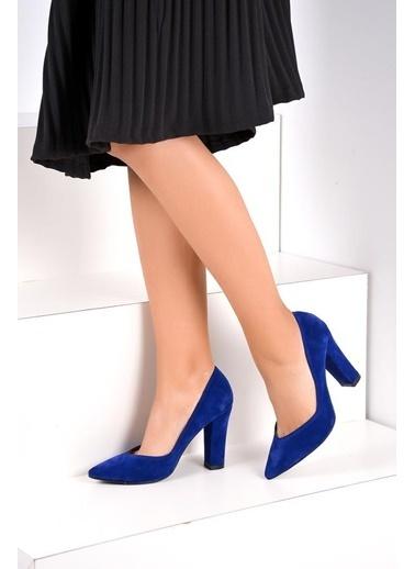 Pembe Potin Ayakkabı Saks
